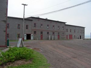 Gross Isle disinfection building