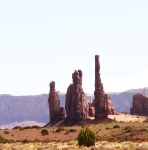 Totem Pole rock formation