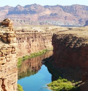 View of Colorado River from Navajo Bridge