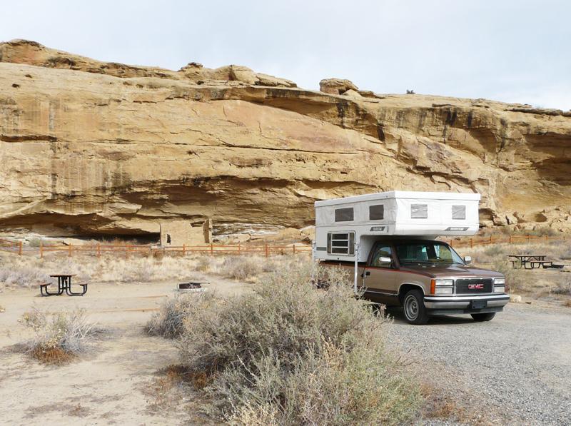 Chaco-campsite
