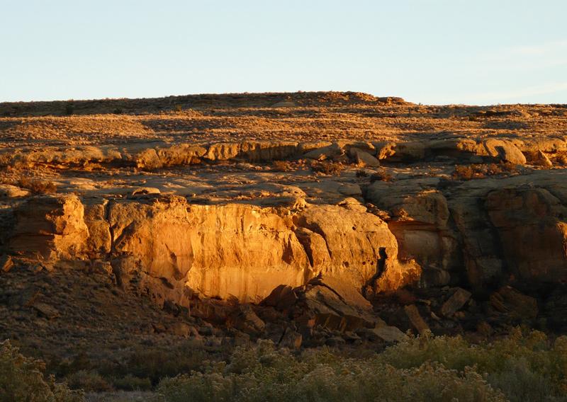 Chaco-dusk