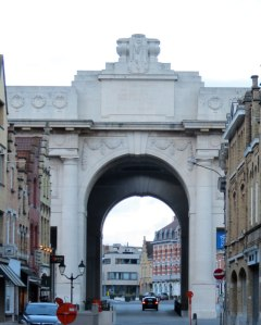 War Memorial Gate - Ypres, Belgium