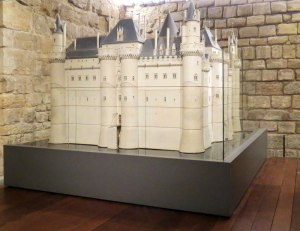 Model of Medieval Louvre