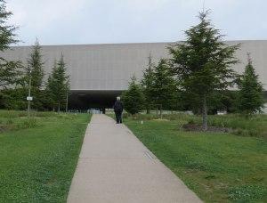 walkway to museum