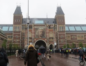 Approach to the Rijksmuseum