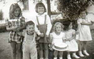my 3rd birthday party - 16 days before the atomic test.