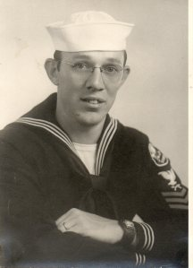 Omer Brodie in his navy uniform.