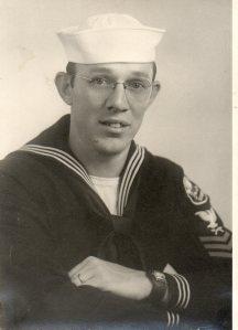 Omer Brodie in his navy uniform.