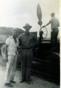 Dad with U.S. Army Engineers