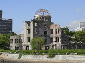 Hiroshima Peace Memorial - photo wikipedia commons