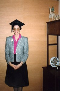 Me in one of my summer business suits after receiving my MBA in 1984