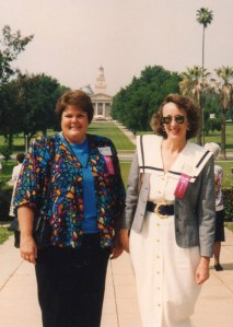 Me with Penny King at 30th U of R reunion - 1993