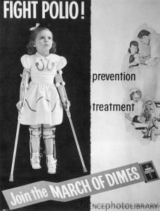 Fight Polio advertisement.