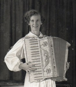 Mom at accordion performance