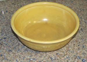 my muffin bowl - originally my mom's