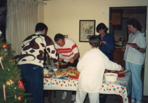 New Year's Eve - 1991 in our Kirkland home with the Wangerins