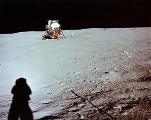 NASA photo taken by Neil Armstrong