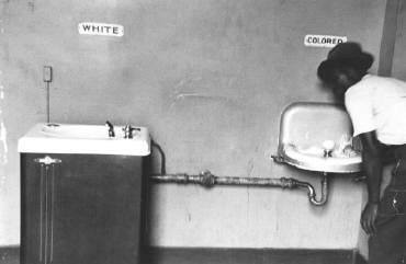 Memoir - segregated drinking fountain