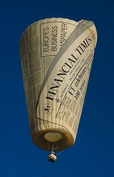 newspaper-hot-air-balloon