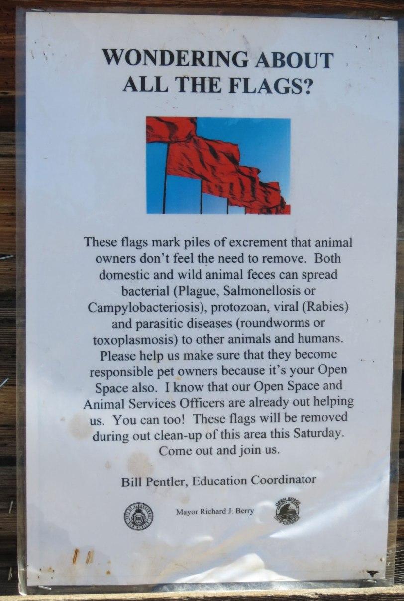 Copper-dog-poop-flag-sign