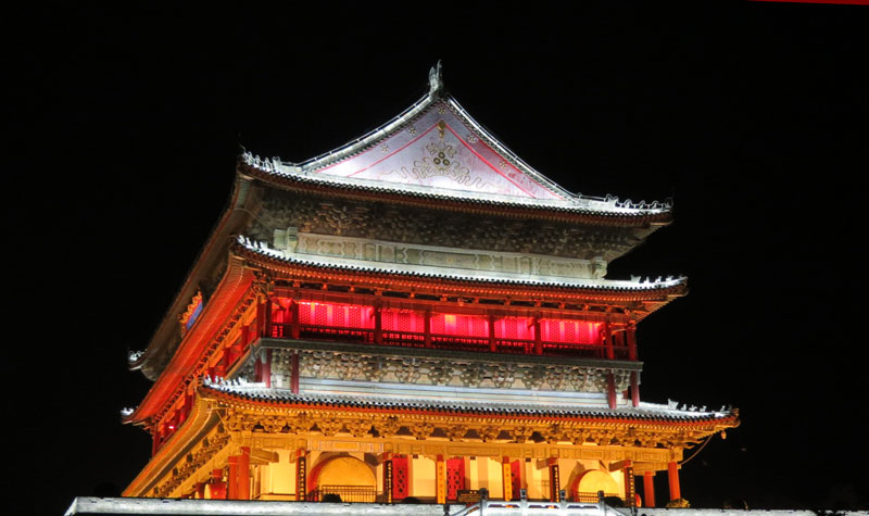 CH-Xian-Bell-Tower-night