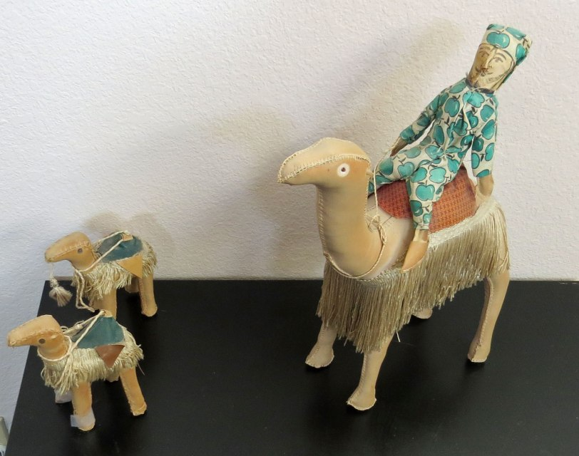 Egyptian-camels--stuffed-leather-(to-Liz)