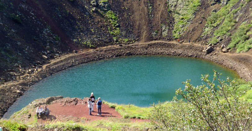 Iceland-Kerio-crater-lake-7-20-19