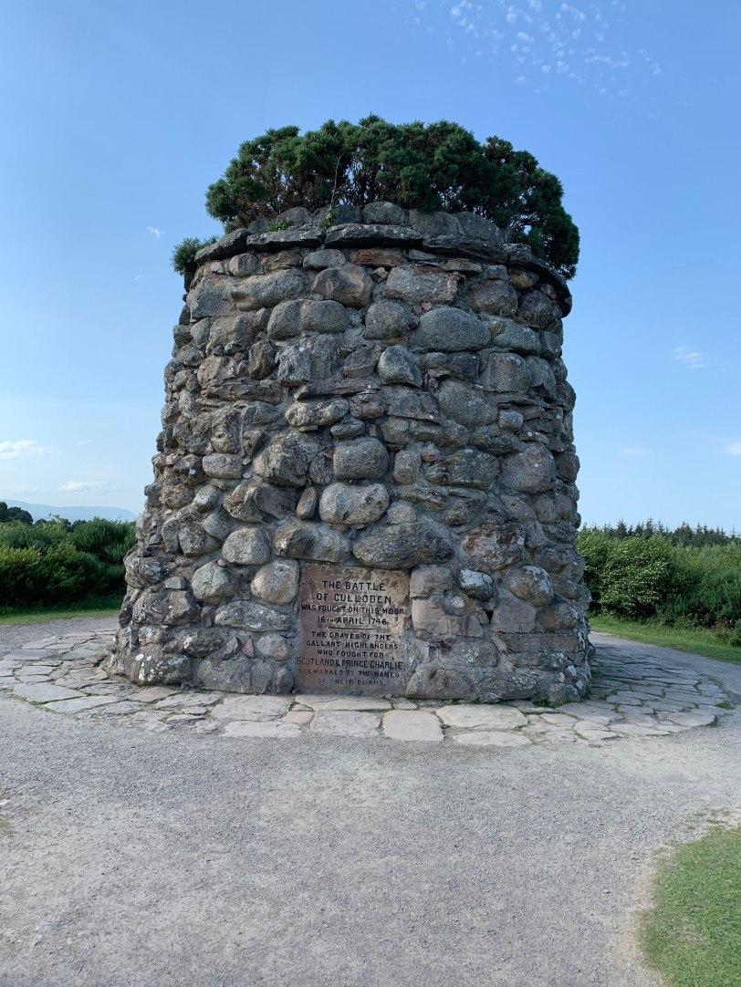 UK-Culloden-memorial-cairn-7-25-19