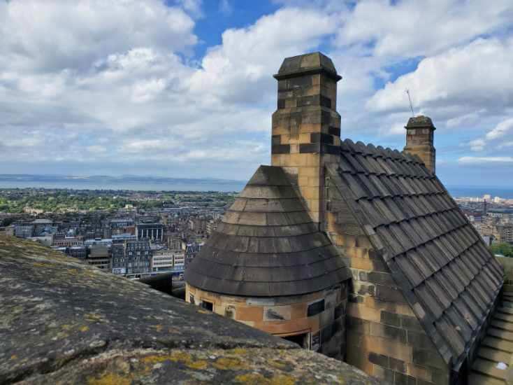 UK-Edinburgh-Castle-Argyle Tower - BJ