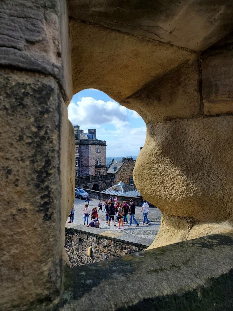 UK Edinburgh Castle inside - BJ