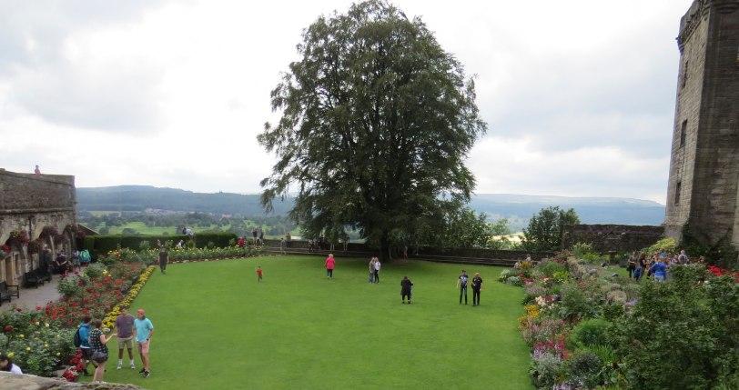 UK-Stirling-Castle-Queen Anne Gardens-7-24-19